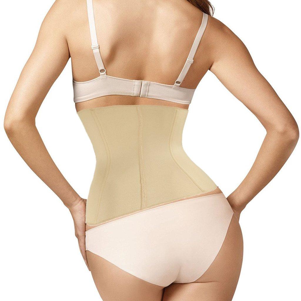 aff48ccc05 SAYFUT Waist Tummy Girdle Belt Body Shaper Cincher Underbust Control Corset  Firm at Amazon Women s Clothing store