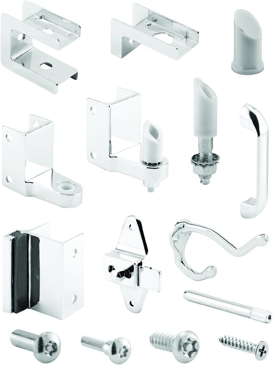 Sentry Supply 650-6635 Two Prong Coat Hook Chrome