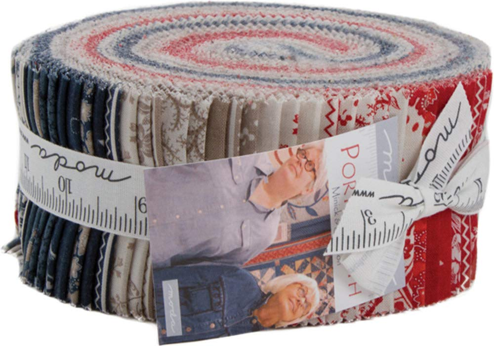 Portsmouth by Jo Morton Jelly Roll 40 2.5-inch Strips from Moda 14860JR Moda Fabrics