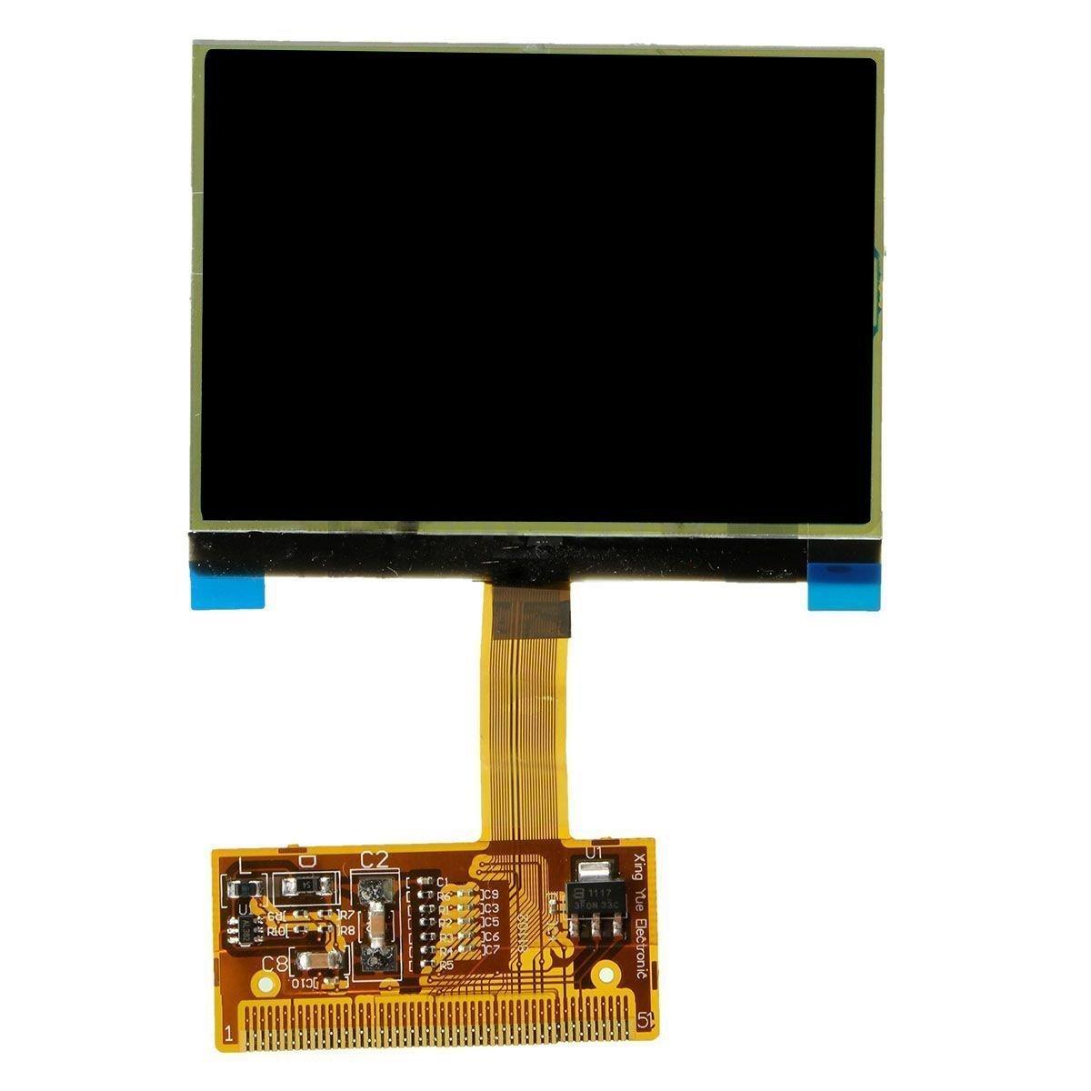 ecran d'affichage LCD - TOOGOO(R) Instrument Grappe Verre tachymetre ecran d'affichage LCD pour AUDI TT A6 JAEGER 062224
