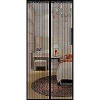 Magnetic Fly Screen Door Curtain, Anti Mosquito Mesh, Insect Protection for Balcony Door, Cellar Door, Patio Door,black…