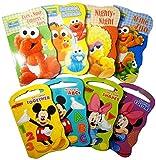 2 Set of Baby Toddler Beginnings Board Books (Sesame Street...