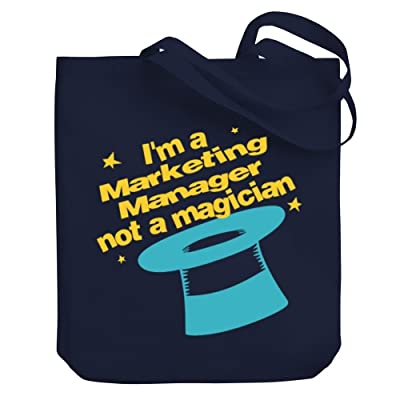 Teeburon I'm a Marketing Manager, not a magician Canvas Tote Bag