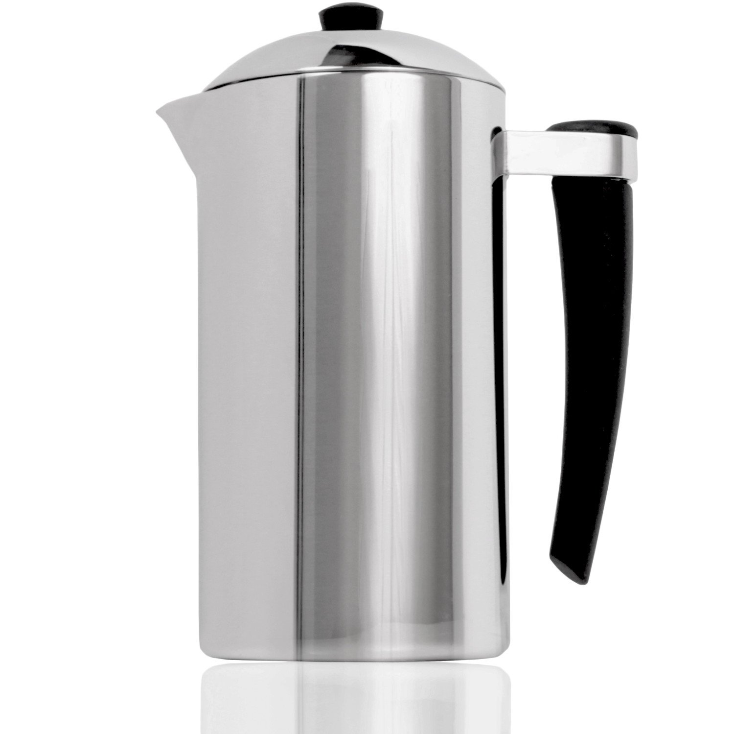 French Press Express Double-Wall Stainless Steel Coffee Press - 1 Liter
