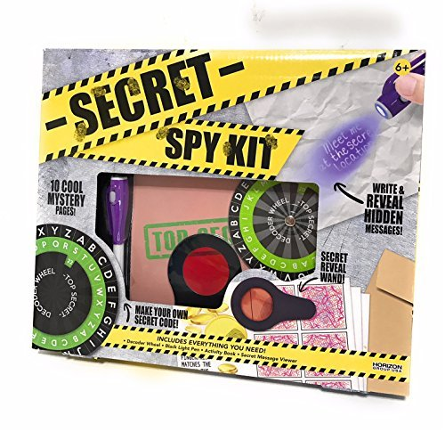 Spy Kit Kids Secret - Secret Message Decoder