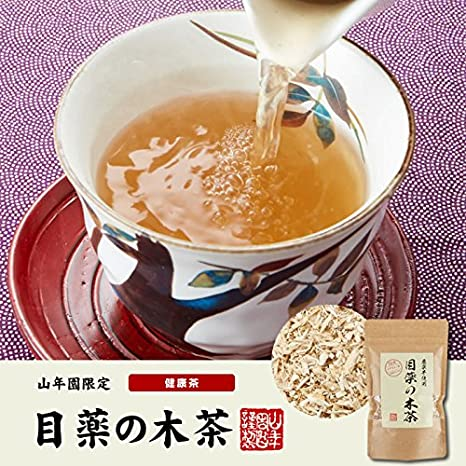 Amazon.com : Japanese Tea Shop Yamaneen Non caffeine Made in Tochigi-ken Organic Wooden tea of eye drops Nikko maple 60g : Grocery & Gourmet Food