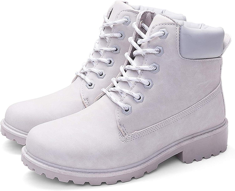 Promising-development Boots Winter Shoes Women Snow Boots Ankle Boots Women Booties Warm Fur Women Botas,Gray No Plush,8.5