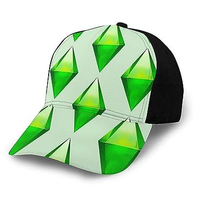NR Los Sims Plumbob Gorra de béisbol Ajustable para Deportes al ...