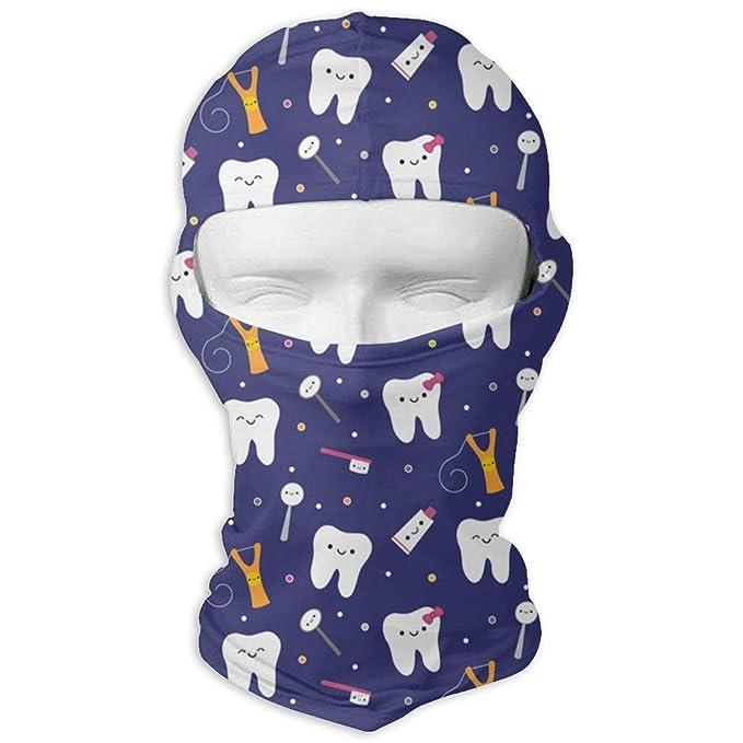 maschera facciale denti