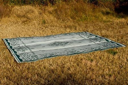 Charcoal Swirl Camco 42843 Outdoor Mat 8-Feet x 16-Feet