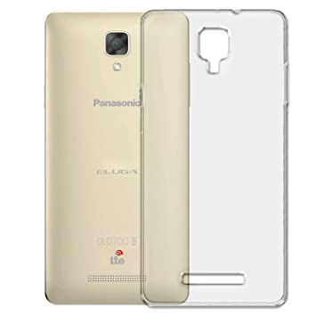 COVERNEW Back Cover for Panasonic Eluga I2   Transparent Skin Stickers