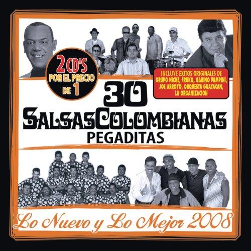 30 Salsas Colombianas Pegaditas - 30 Salsas Colombianas Pegaditas: Nuevo Y Mejor 08 - Amazon.com Music