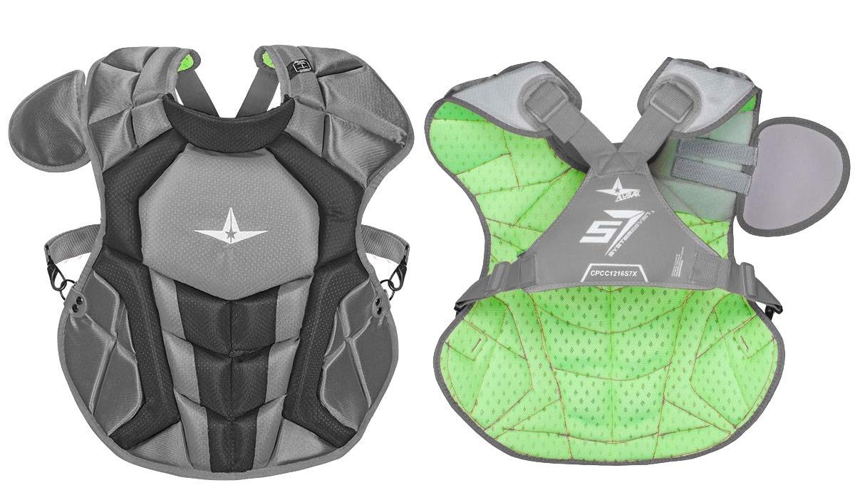 Allstar S7 Axis Chest Protector 12-16 - 15.5'' (Graphite/Black)