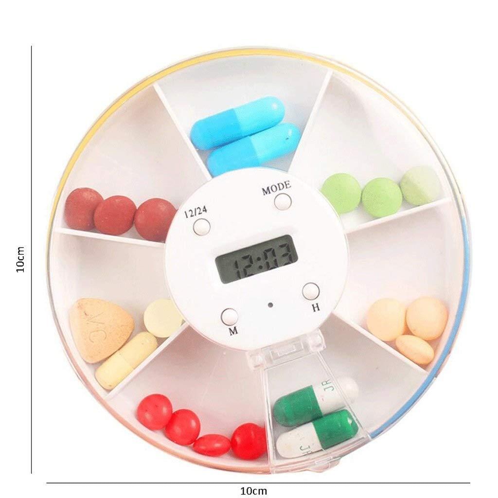 Amazon.com: RMXMY Caja de pastillas portátil inteligente ...