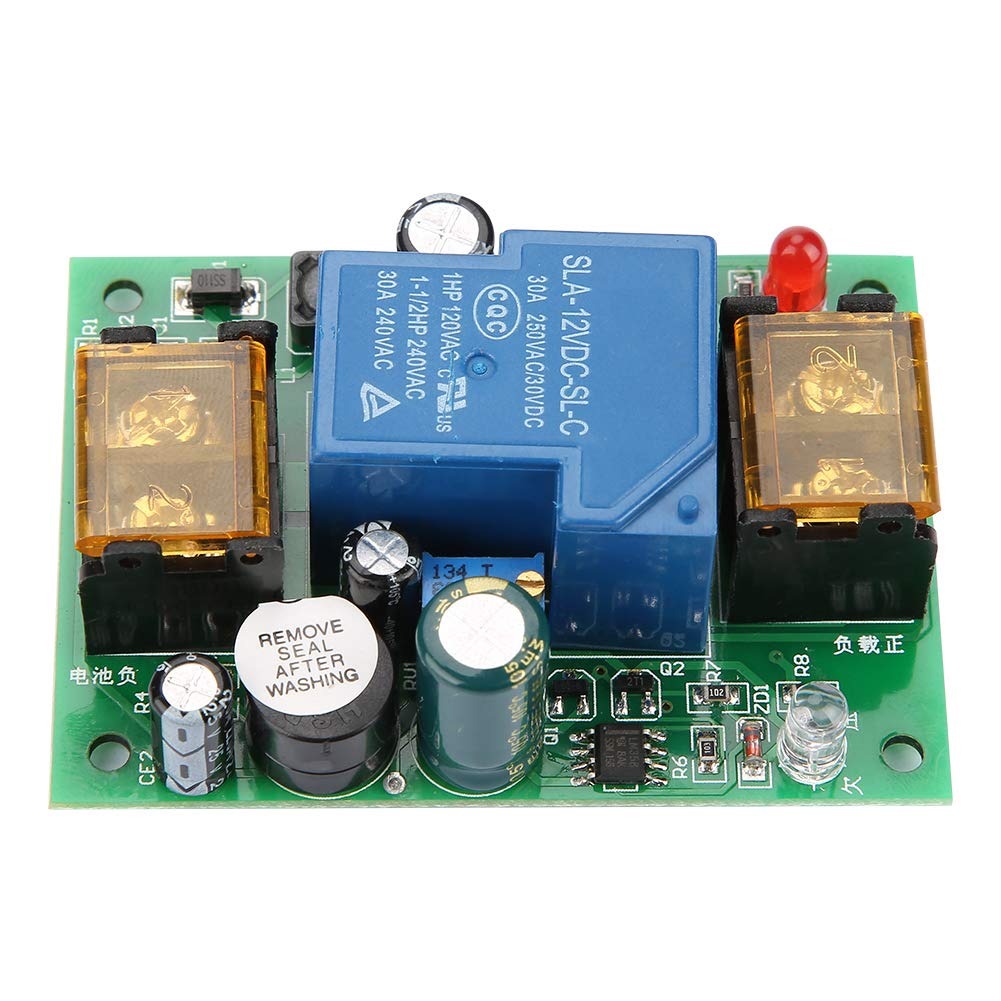 Tablero De Protección De La Batería, 12V 24V 36V 48V Tablero De Protección De La Batería Baja Con Sobrecarga Excesiva Con Función De Alarma De Demora 30A