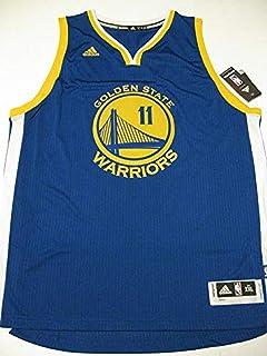 dcd88b9be Amazon.com : adidas Klay Thompson Men's White Golden State Warriors ...