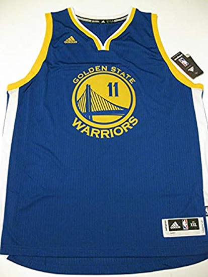 5f234b45f71 adidas Klay Thompson Men's Blue Golden State Warriors Swingman Jersey Medium
