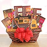 Godiva Exquisite Expressions Chocolate Gift Basket