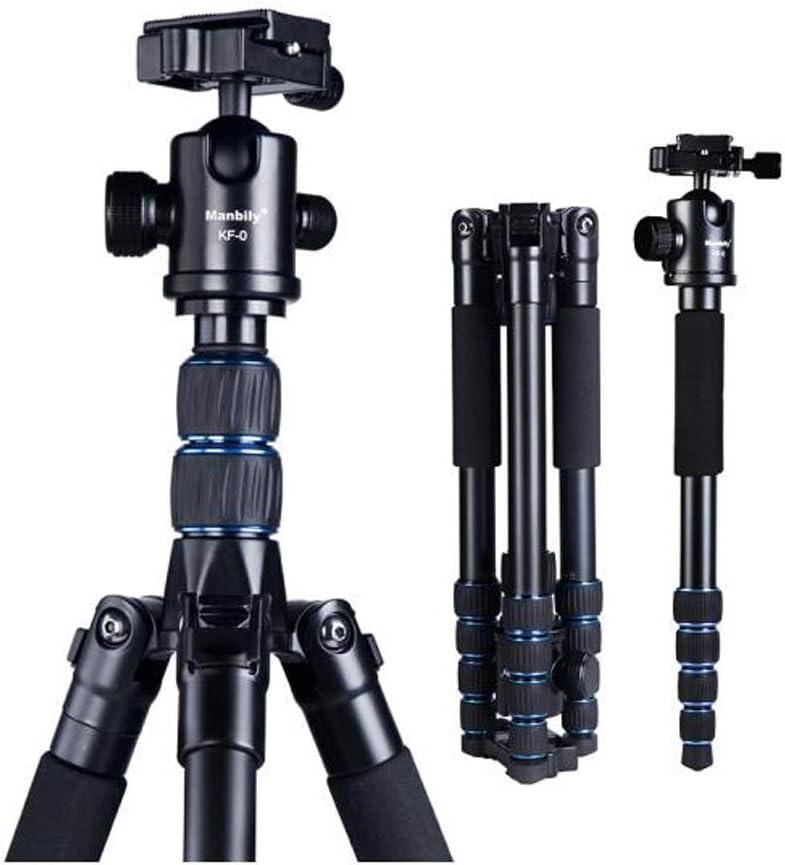 HAOYUSHANGMAO Soporte para cámara, trípode de Aluminio Profesional ...
