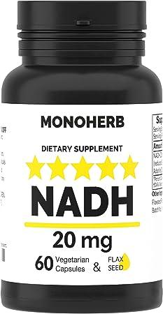 NADH 20 mg - 60 VegCap