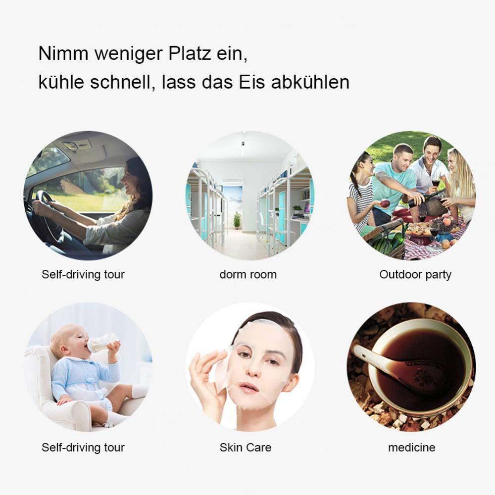 Reise-Mini-K/ühler Kosmetik K/ühlung und Isolierung SHENGY 12 V und 24 V Universal-Autok/ühlschrank Lebensmittel f/ür gek/ühlte Medikamente