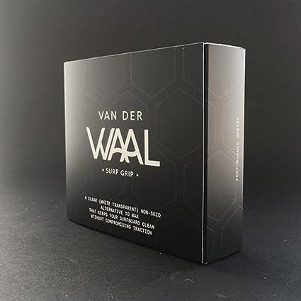 Van Der Waal - Agarre de surf unisex 2.0, 30 Pack, Transparente