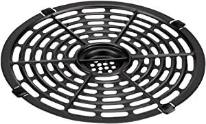 Air Fryer Replacement Grill Pan For Power Gowise 3.7QT Air Fryers, Crisper Plate,Air fryer Accessories, Non-Stick Fry Pan, Dishwasher Safe