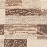 Superior Modern Rockwood Collection Area Rug, 8mm