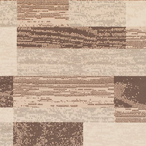 Kira Home Manhattan 23 5-Light Mid Century Modern Chandelier Cylinder Honeycomb Shades, Warm Brass Accents Black Finish