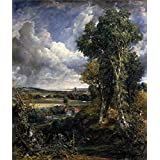 Canvas Prints Of Oil Painting ' John Constable,Dedham Vale,1802 ' , 10 x 12 inch / 25 x 30 cm , High Quality Polyster Canvas Is For Gifts And Bath Room, Dining Room And Game Room Decoration, for life