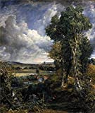 Oil Painting 'John Constable,Dedham Vale,1802', 18 x 21 - Best Reviews Guide