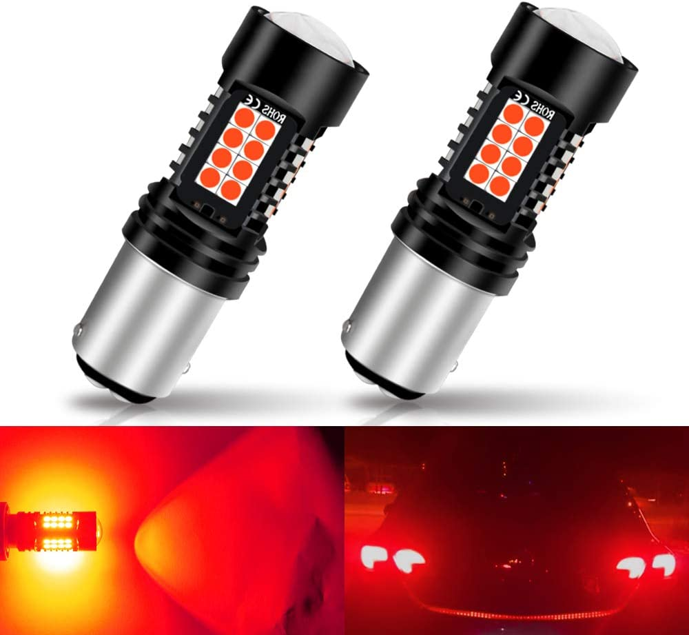 CIIHON Upgraded 3157 LED Light Bulbs,12V 24W 2800LM 6000K White LED Bulbs,Super Bright 3030 SMD 3057 3056 3156 4057 4157 LED Lights Car Brake Backup Reverse Turn Signal Tail DRL Lights Replacement