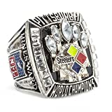 Budazo 2005 Year Pittsburgh Steelers Championship Rings For Mens,Size 8