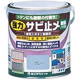 ロックペイント 強力サビ止メ塗料 グレー 0.7L H61-1631-03