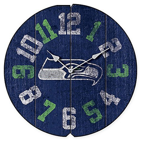 Seahawks Wall Clocks Seattle Seahawks Wall Clock