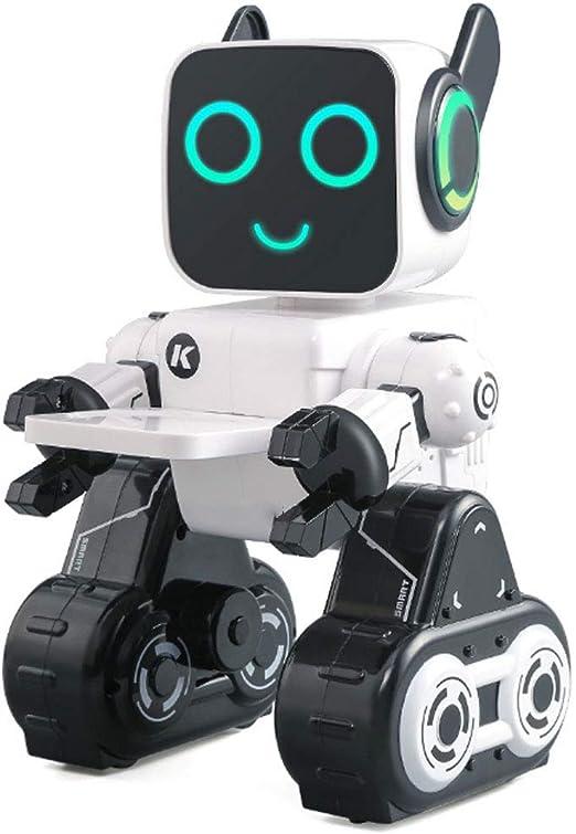 Sensible Al Tacto RC Robot Sonido Inteligente Programación Playmate El Canto Y El Baile Juguetes Educativos Adecuado para El Juego Interior Chico Chica Juguetes De Cumpleaños: Amazon.es: Hogar