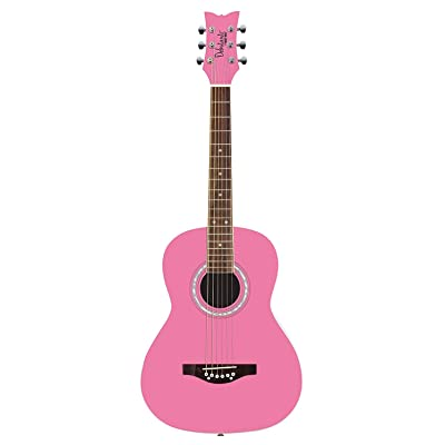 Other 6 String Acoustic Guitar, Right, Bubble Gum Pink (Other): Musical Instruments