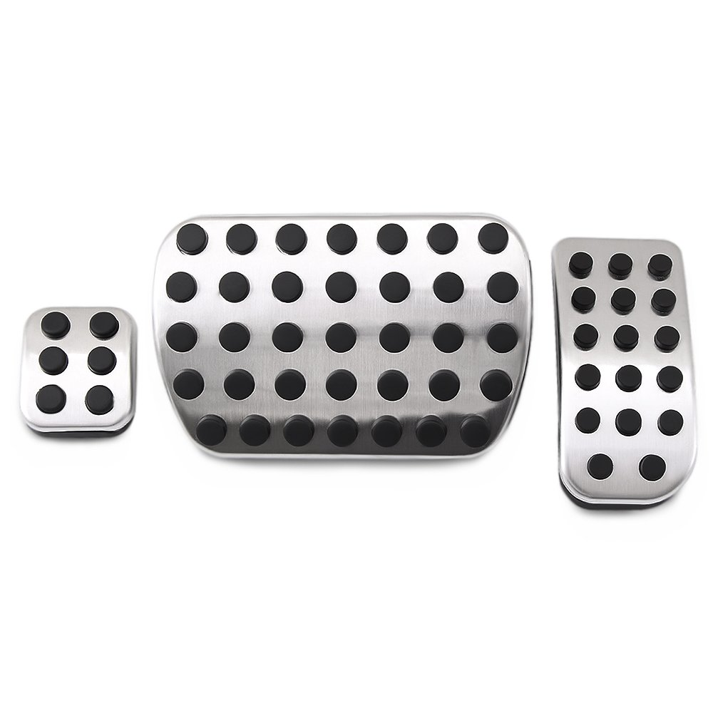 Stainless Steel No Drill Fuel Brake Foot Pedals For Mercedes Benz V Class Vito Metris Viano W447 W639 VCiiC VBZJTBVJ0AT