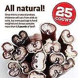 Natural Farm 6-Inch Bully Sticks (25-Pack)- Odor