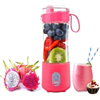 Portable Blender, Smoothie Blenders, Personal Size Blender USB Rechargeable Smoothies and Shakes Juicer Cup, 4000mAh…