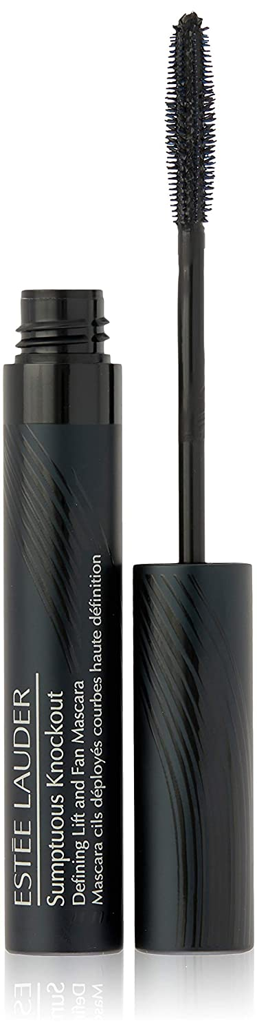 5e42d57077a Amazon.com : Estee Lauder Sumptuous Knockout Defining Lift and Fan Mascara,  No. 01 Black, 0.21 Ounce : Beauty
