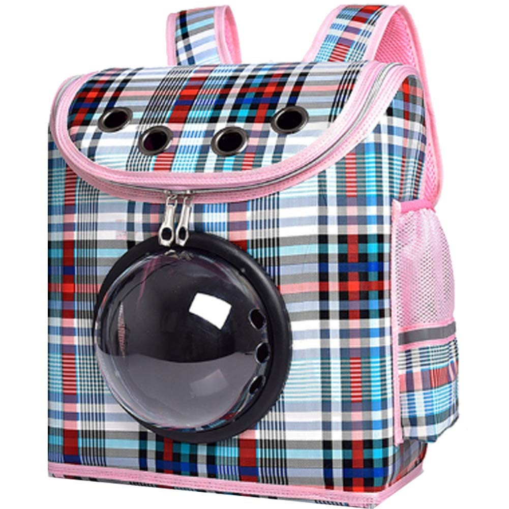 blueedivision Bubble Soft-Side Cat Carrier with Waterproof Ventilation Capsule for Outdoor Portable pet Tote