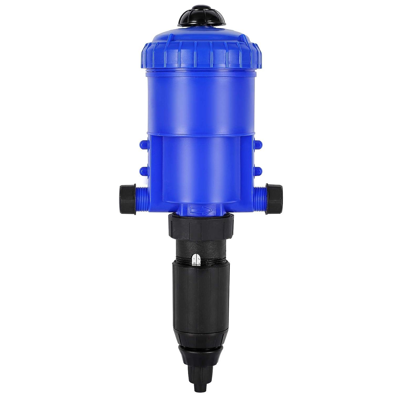NEWTRY 1%-5% Chemical Fertilizer Injector Dispenser Drip Irrigation Liquid Flow Doser Dosing Pump for Garden Livestock Farm Industry