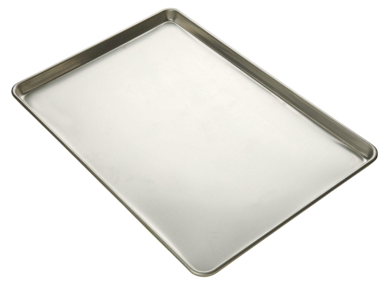 Focus Foodservice Commercial Bakeware 23-Gauge Natural Finish Aluminum-Sheet Pan, 1/4-Sheet