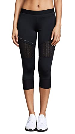 9c033904f7fce adidas by Stella McCartney Women's Performance 3/4 Leggings, Black, X-Small