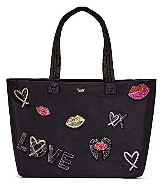 Amazon.com: Victoria s Secret Runway parche Weekender bolsa ...