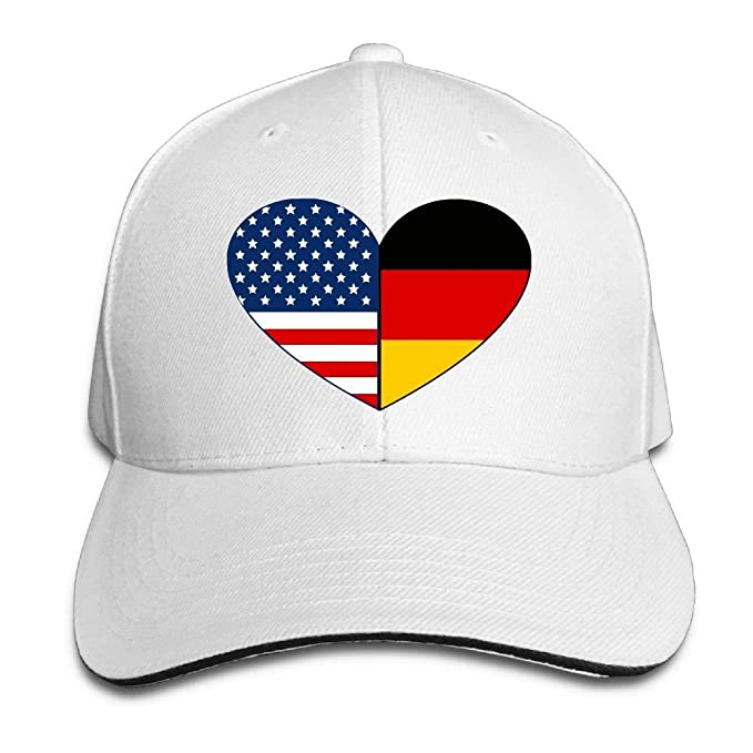 2fb0e8d399f Ausy Man Boys Adjustable Truck Baseball Caps Sandwich German ...