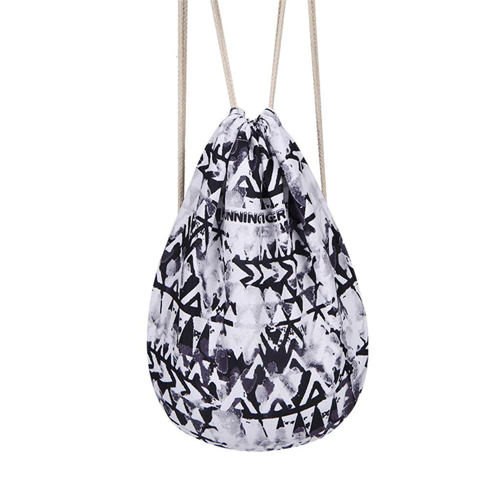Gymsack Sport Gymbag Sackpack Drawstring Backpack Bag Athletic Cinch String Bag for Men & Women