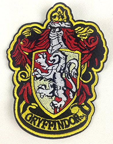 Harry Potter House of Gryffindor Hogwarts Crest Patch