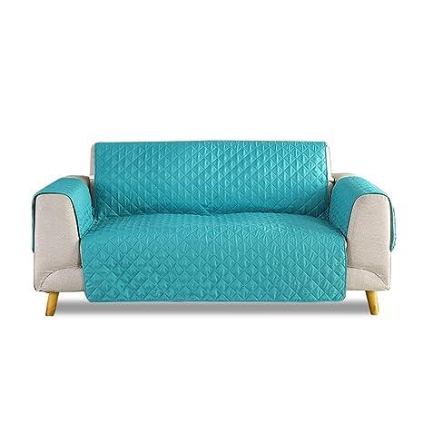 PETCUTE Fundas para sofá 2 Plazas Acolchadas Cubre Sofa Dos ...